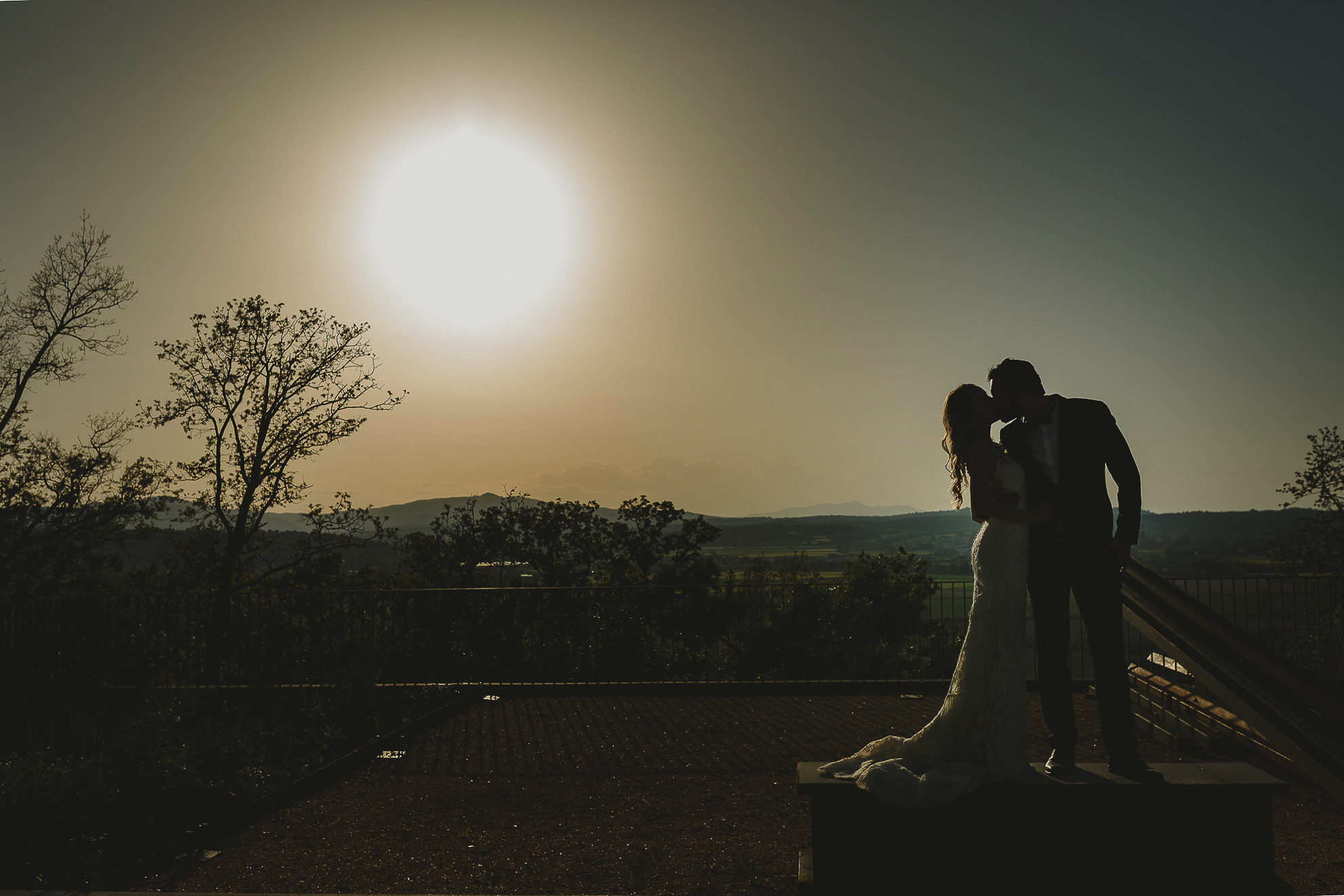 Sunset wedding Castell Emporda